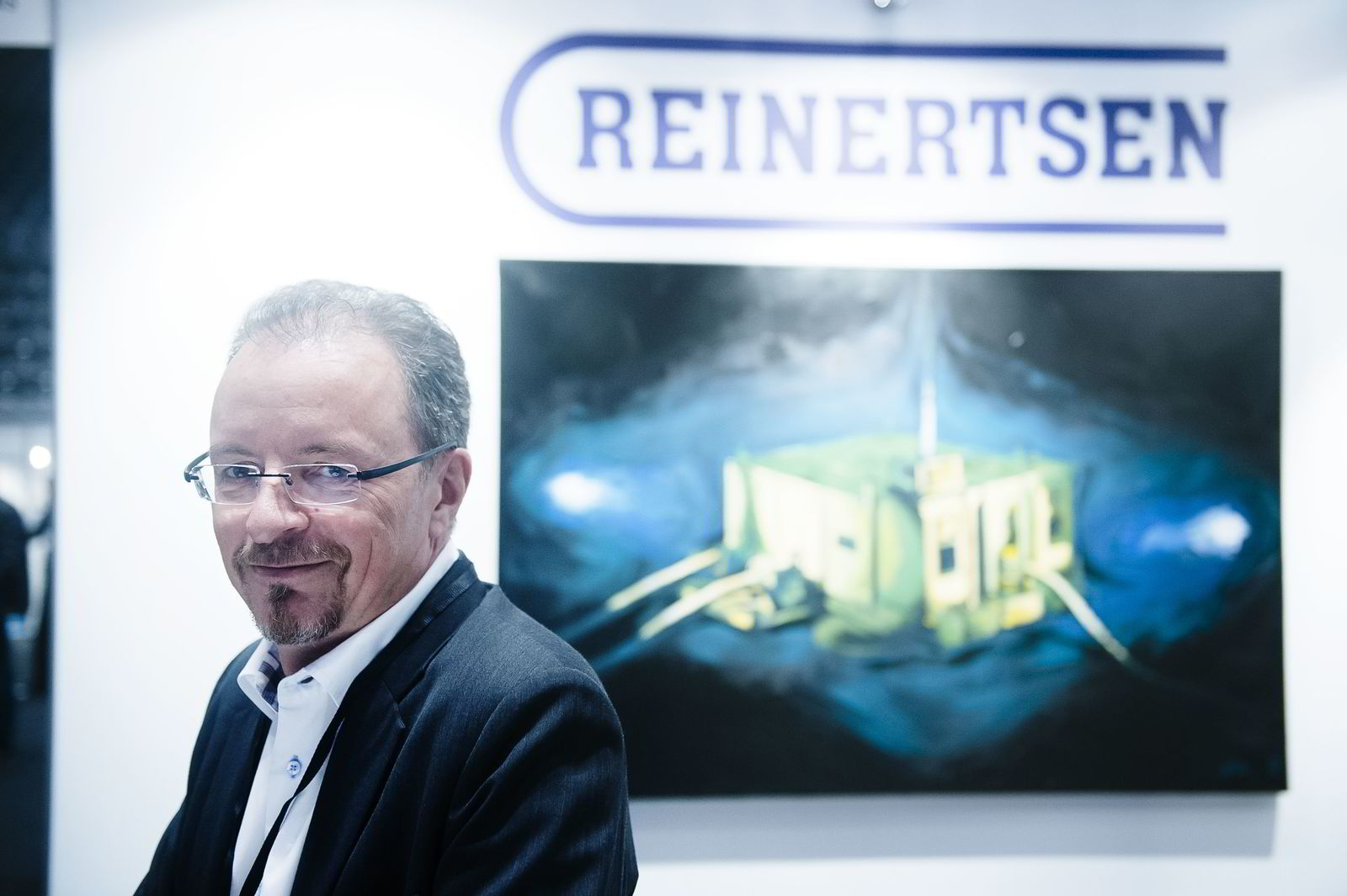 Subsea-sjef Martin Sørensen, Reinertsen. Foto:Hampus Lundgren