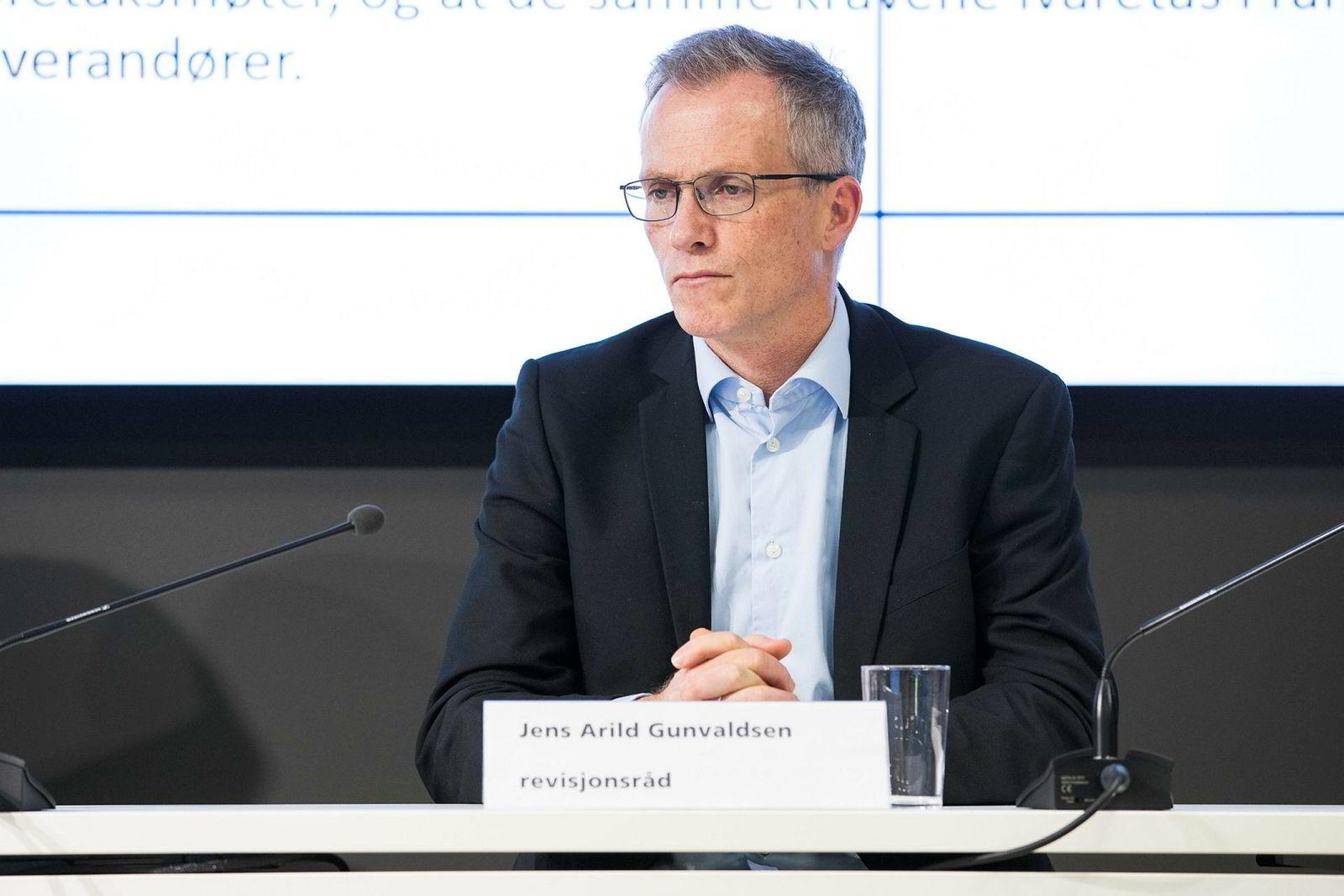 Revisjonsråd Jens Gunvaldsen ser alvorlig på saken.