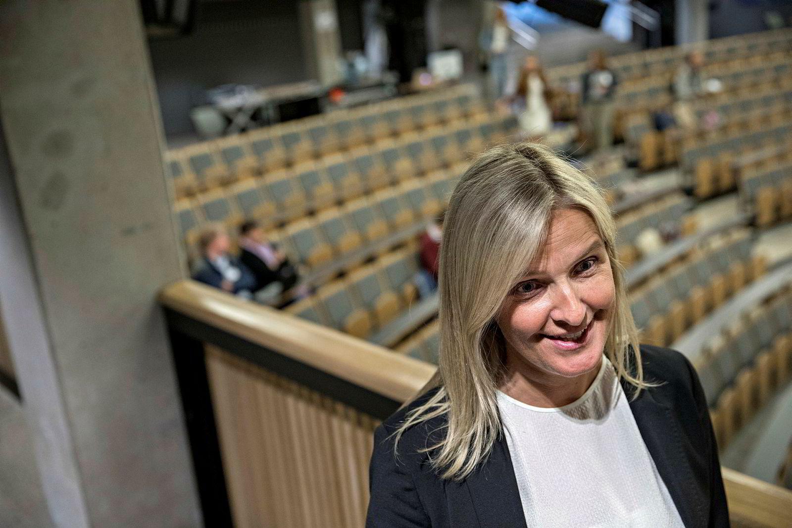 Kjersti Wæge, leder Matematikksenteret Prisutdelinger innen matematikk og foredrag på Oslo Katedralskole