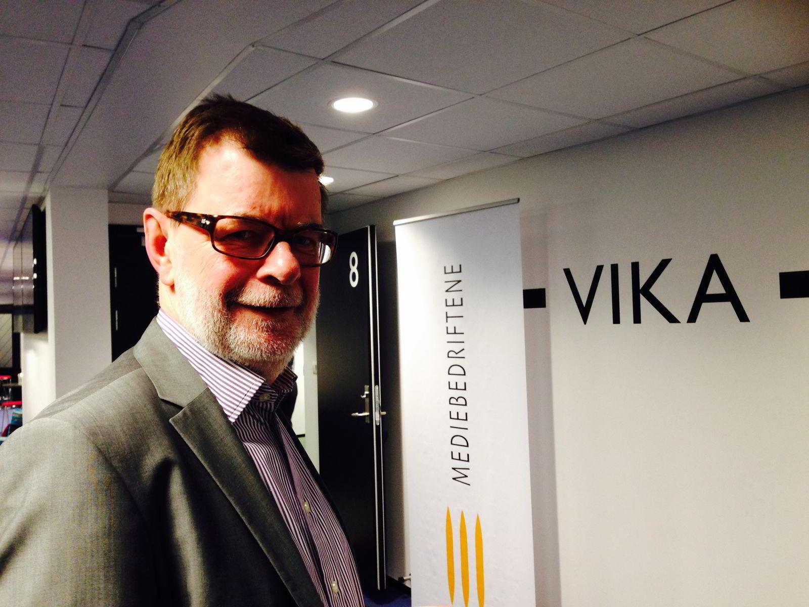 Helge Holbæk-Hanssen, fagsjef i MBL