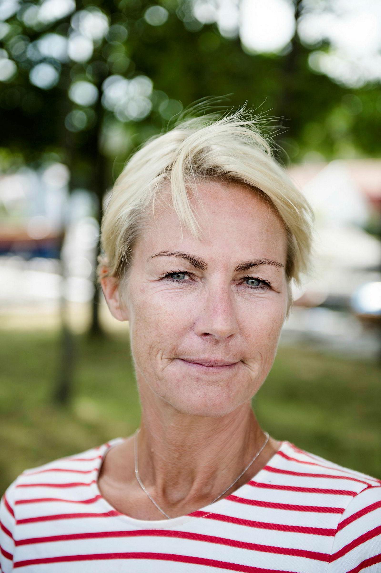 Elisabeth Grieg, deleier i Grieg-gruppen, og hennes mann er én av flere investorer Empower har fått med seg på emisjonen. Her fra 2014 i Stavern.