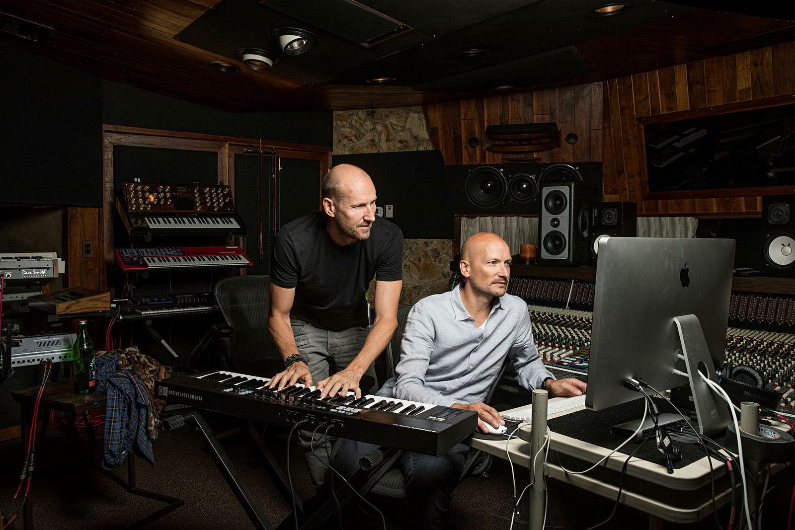 Tor Erik Hermansen (til venstre) og Mikkel Eriksen har siden sitt amerikanske gjennombrudd i 2006 etablert seg som tidenes norske popeksport.