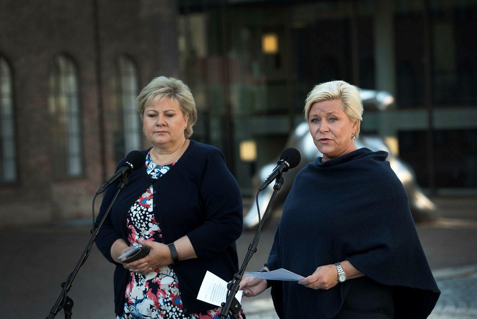 Siv Jensen informerte Erna Solberg om den nye leieavtalen fem måneder etter at den ble inngått.