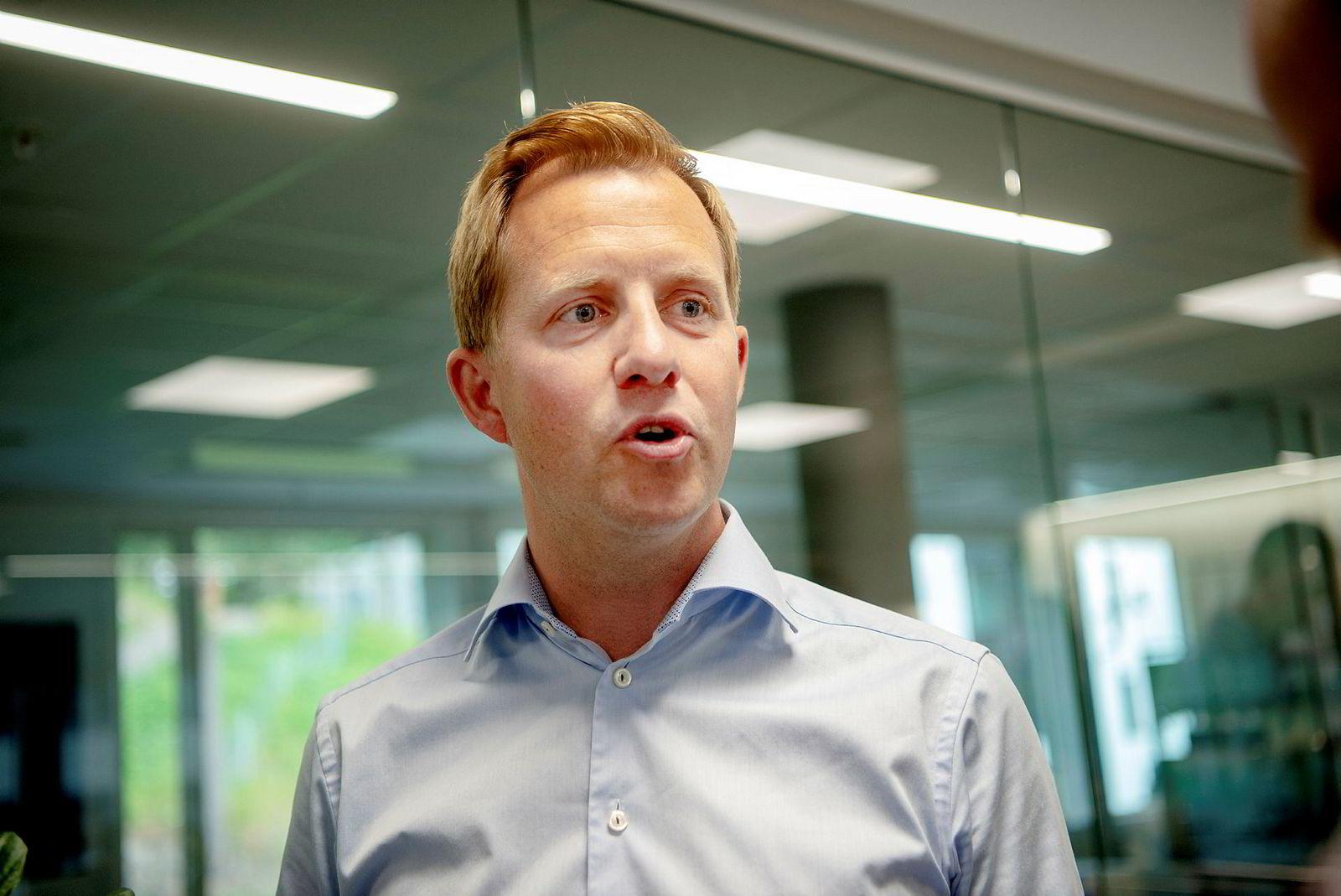 Odd Johnny Winge, styreleder i Disruptive Technologies og investor via Ubon Partners.