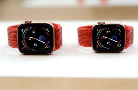 Apple Watch Series 4 kommer fortsatt i to størrelser.