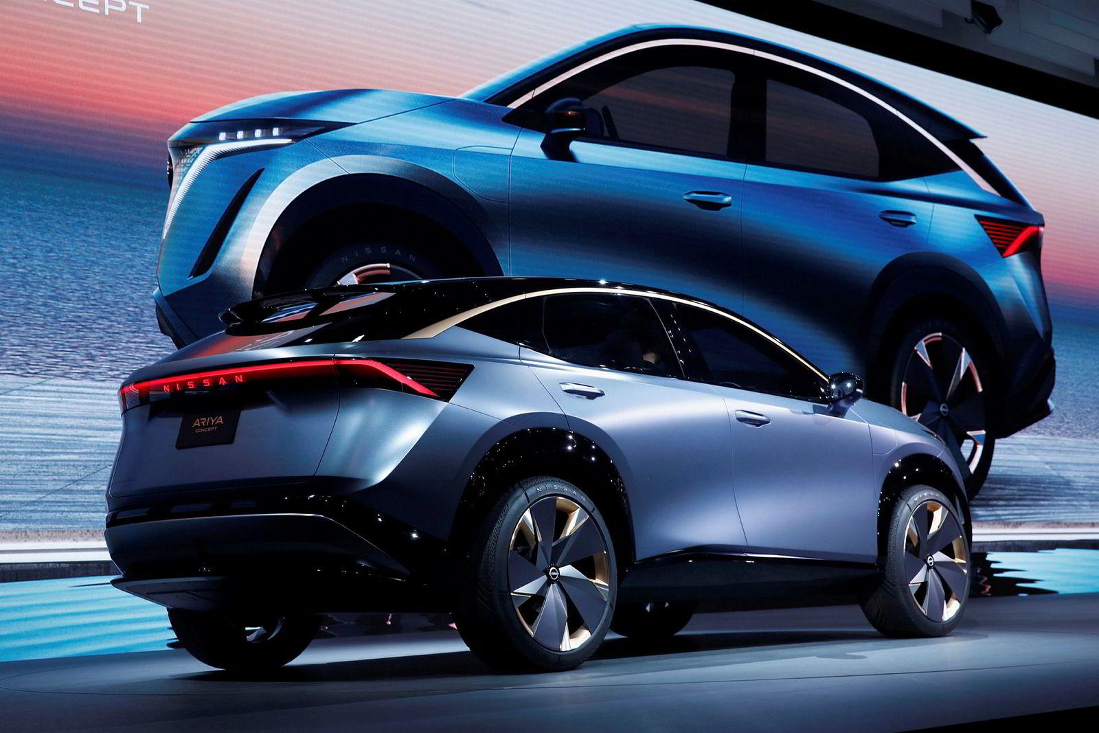 Nissan Ariya er foreløpig bare en konseptbil.
