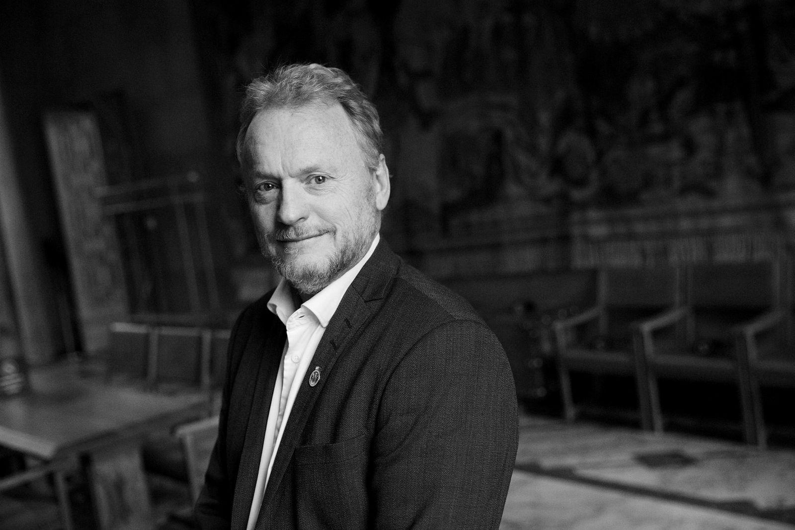Raymond Johansen, byrådsleder i Oslo