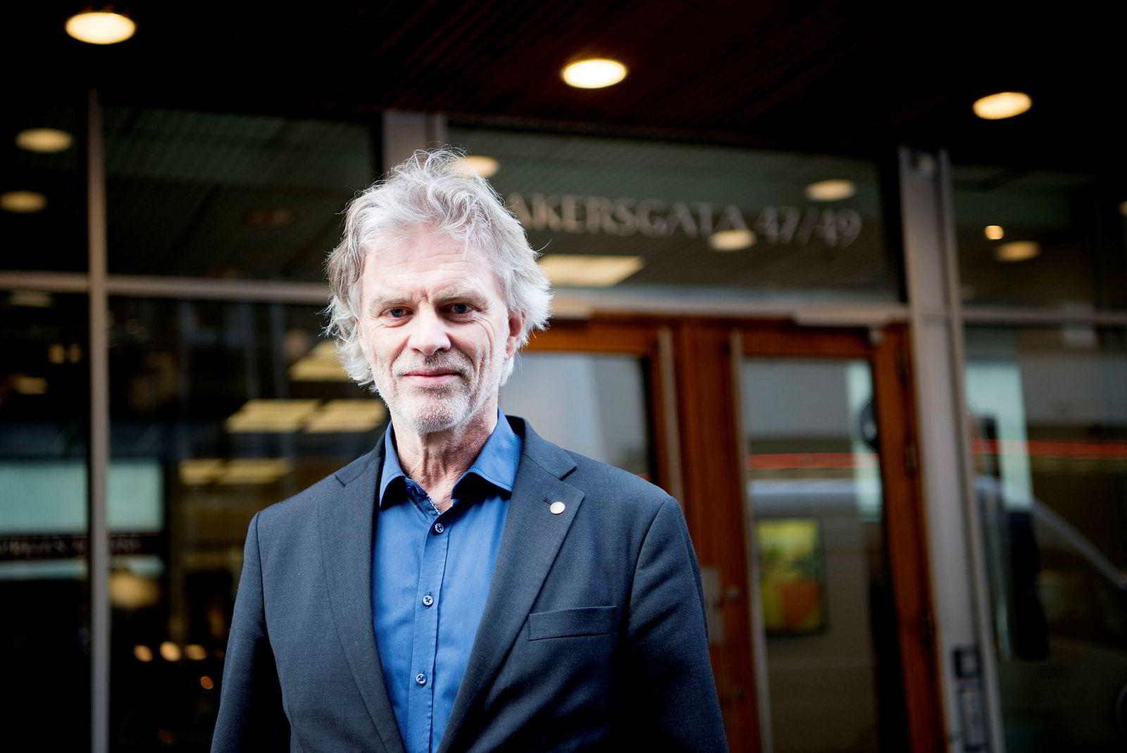 Tom Harald Jenssen er konsernsjef i Cappelen Damm.