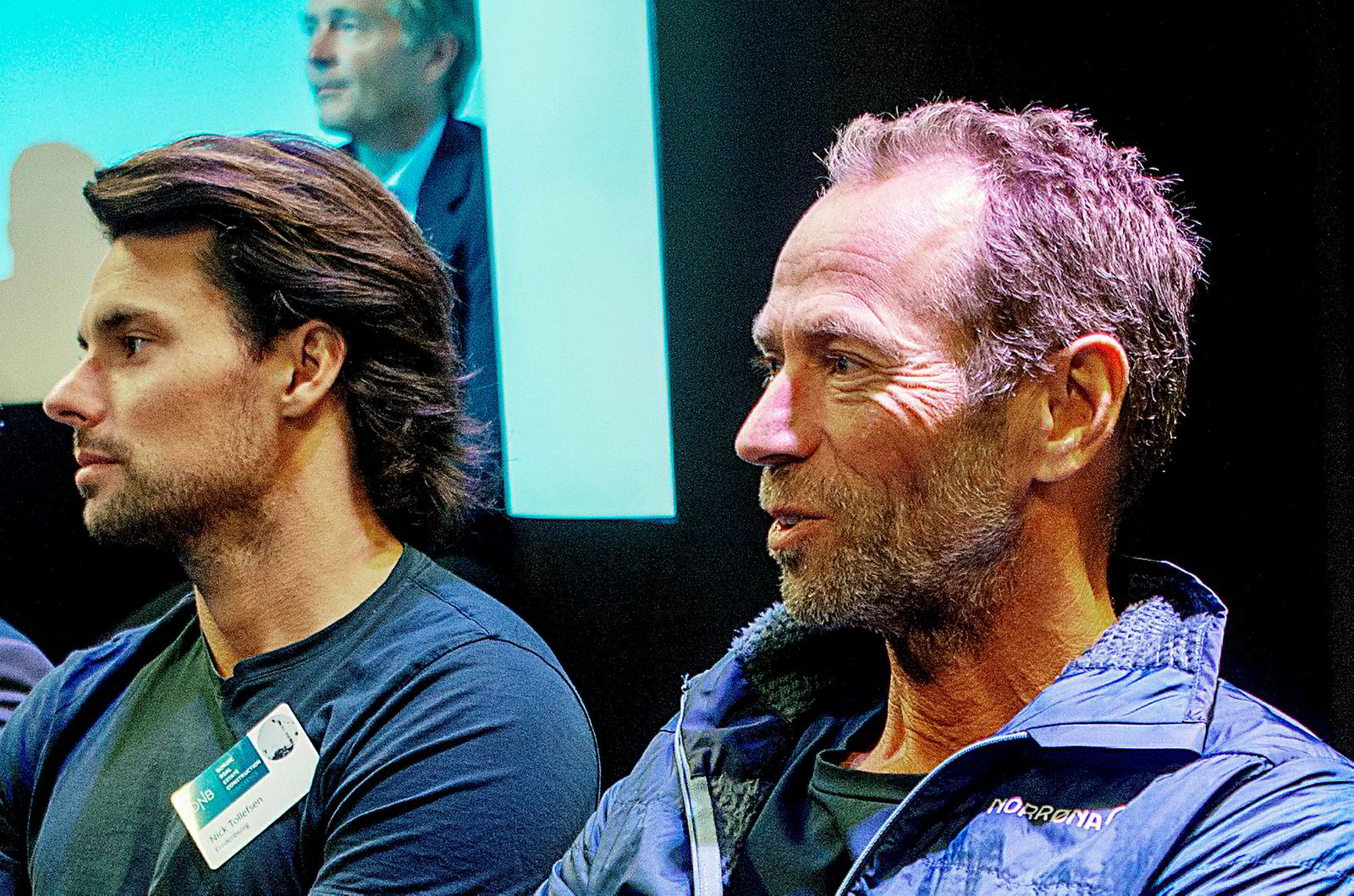 Nick Tollefsen (t.v.) og Ivar Tollefsen.