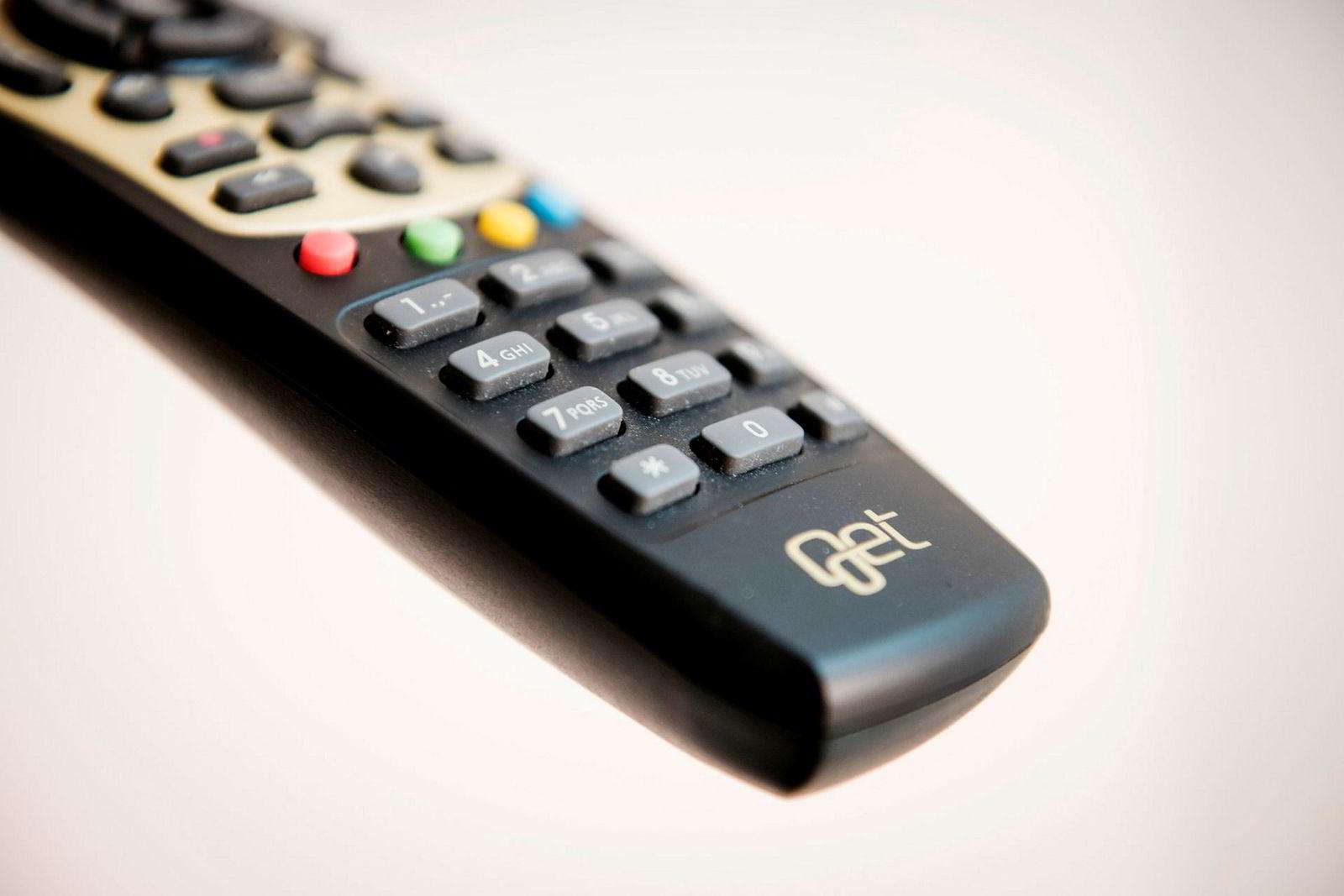 Plasseringen på fjernkontrollen er viktig for tv-kanalene.