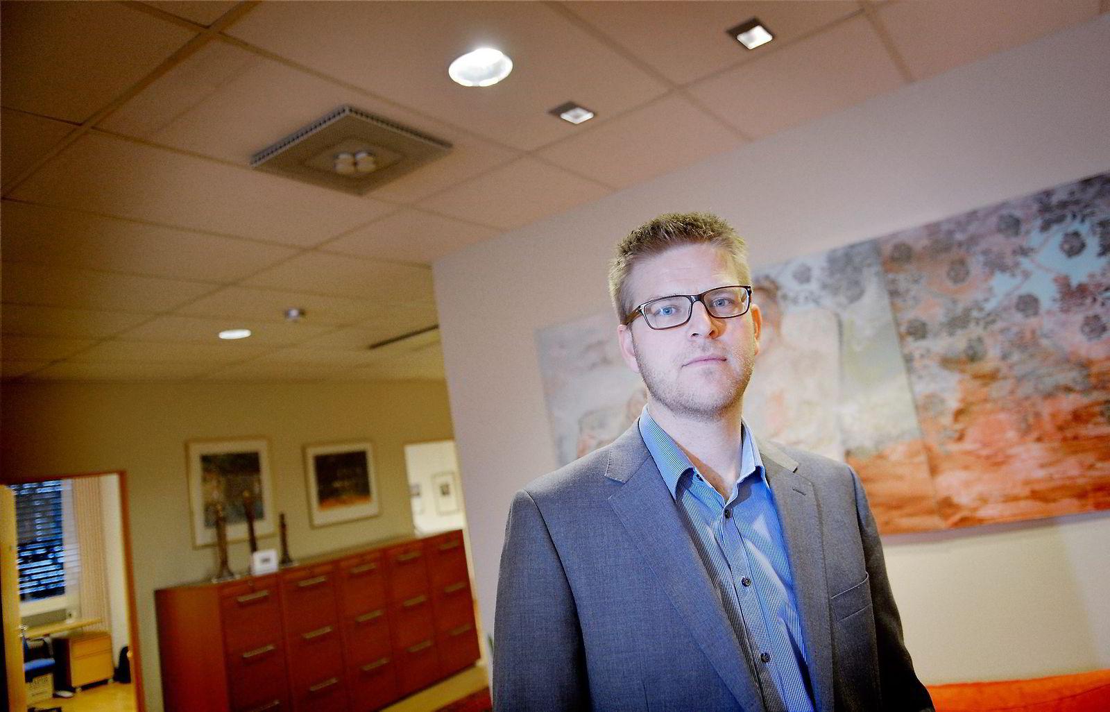 Advokat Jens-Henrik Lien i advokatfirmaet Mageli representerer Uber-sjåførene.