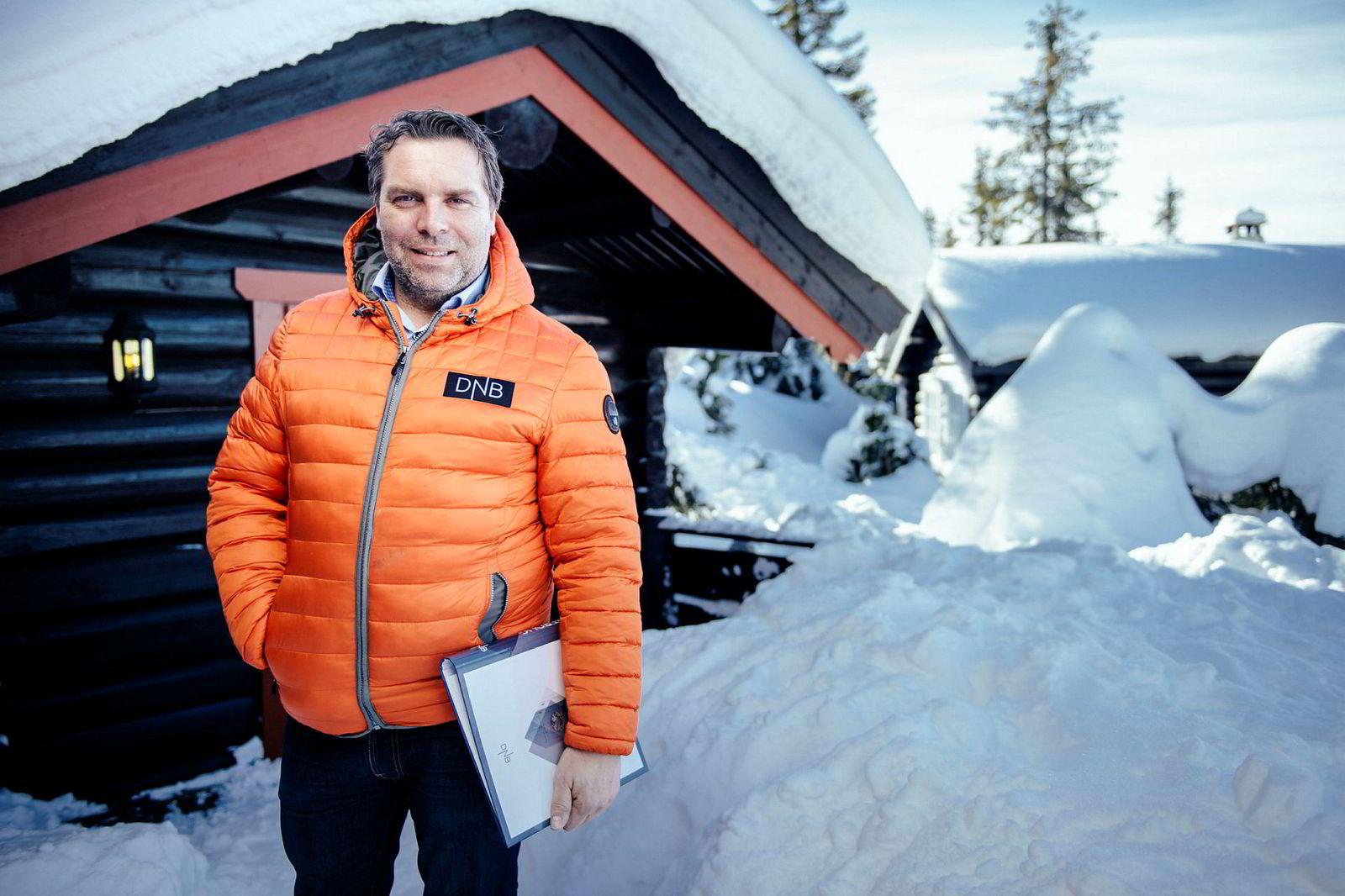 Eiendomsmegler Stig Svartor i Privatmegleren Lillehammer.