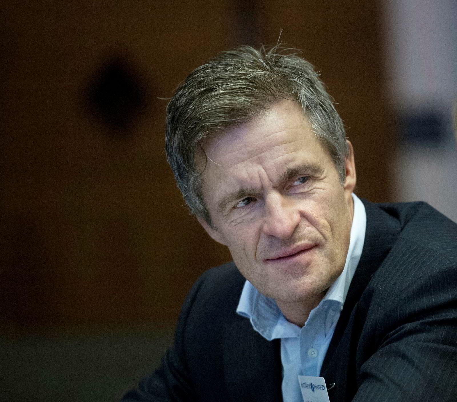 Investor Jan Haudemann-Andersen.