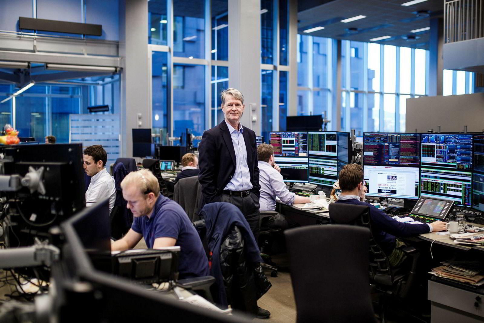 Aksjestrateg Morten Jensen i DNB Markets mener børsene har falt mindre enn ventet. At de kan falle ti prosent er helt innenfor rammene mener han.