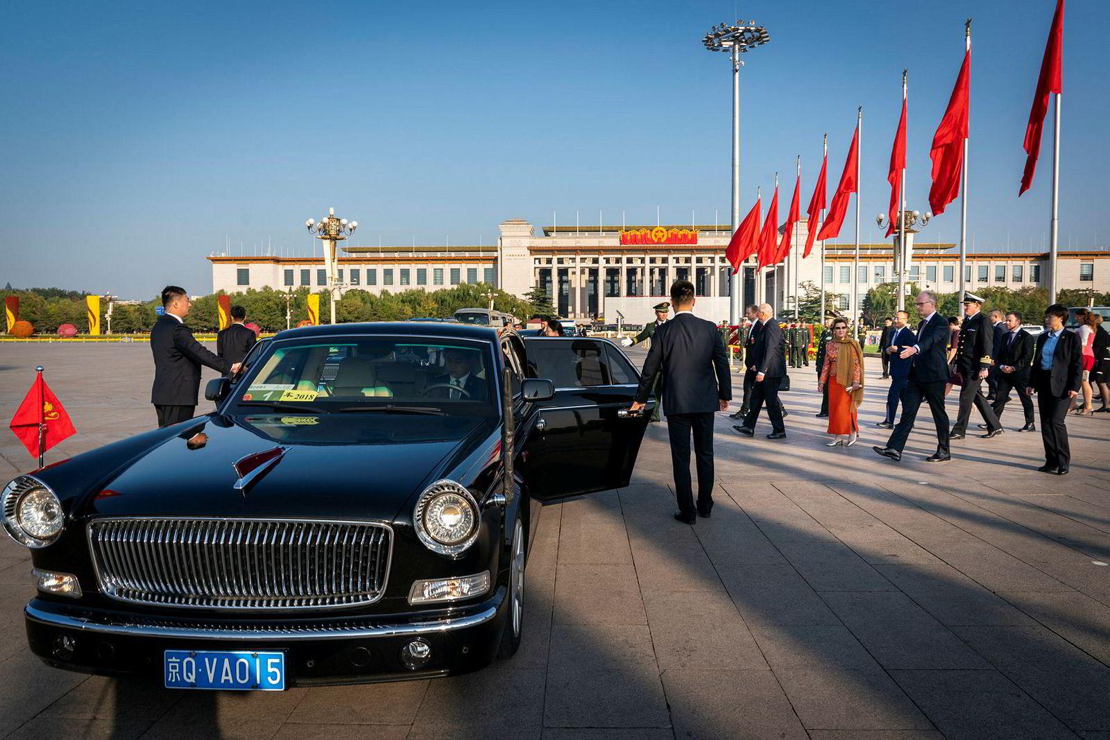Hongqi L5 er Kinas dyreste bil.