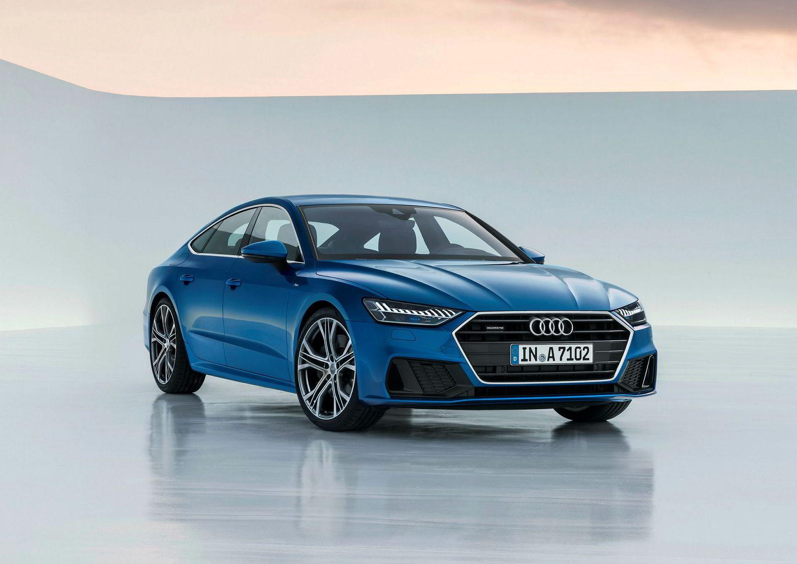 Audi A7 kommer på markedet i starten av neste år.