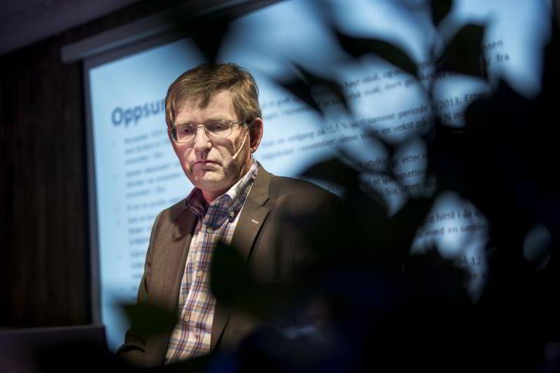 Administrerende direktør Per Jæger i Boligprodusentenes Forening.