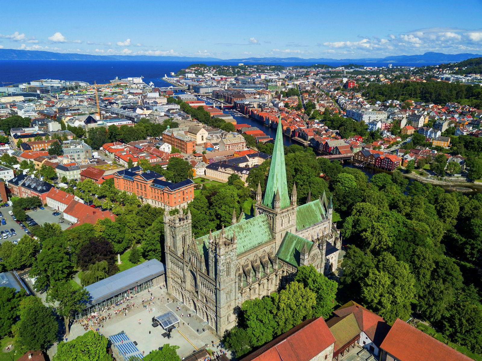 I Trondheim er det, ifølge en næringseiendsomsmegler, økende betalingsvilje for de beste lokalene sentralt i byen og for nybygg i randsonen