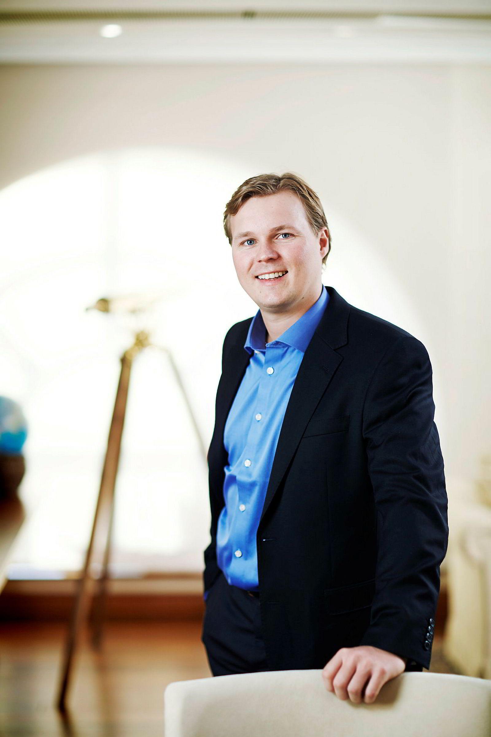 Alexander Sunde (35) tok over som administrerende direktør i O.N. Sunde etter faren i 2015.