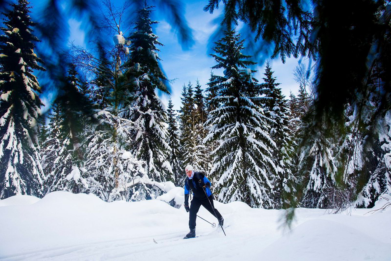 Matz Jenssen koser seg først og fremst med leken på ski. Det og bakgrunnen fra hopp og alpint har også gjort at han har hentet mange løpere i bakkene nedover fra Sjusjøen i Birkebeinerrennet opp gjennom årene.