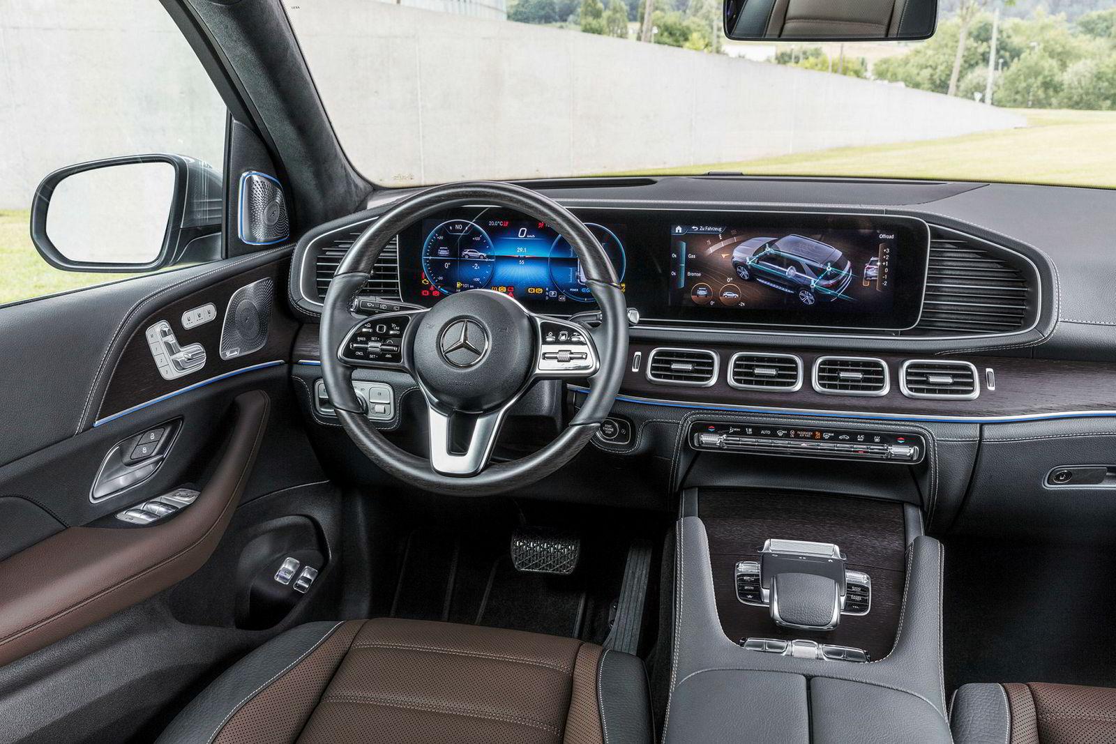 Interiøret kjenner vi fra de fleste andre nye modeller fra Mercedes.