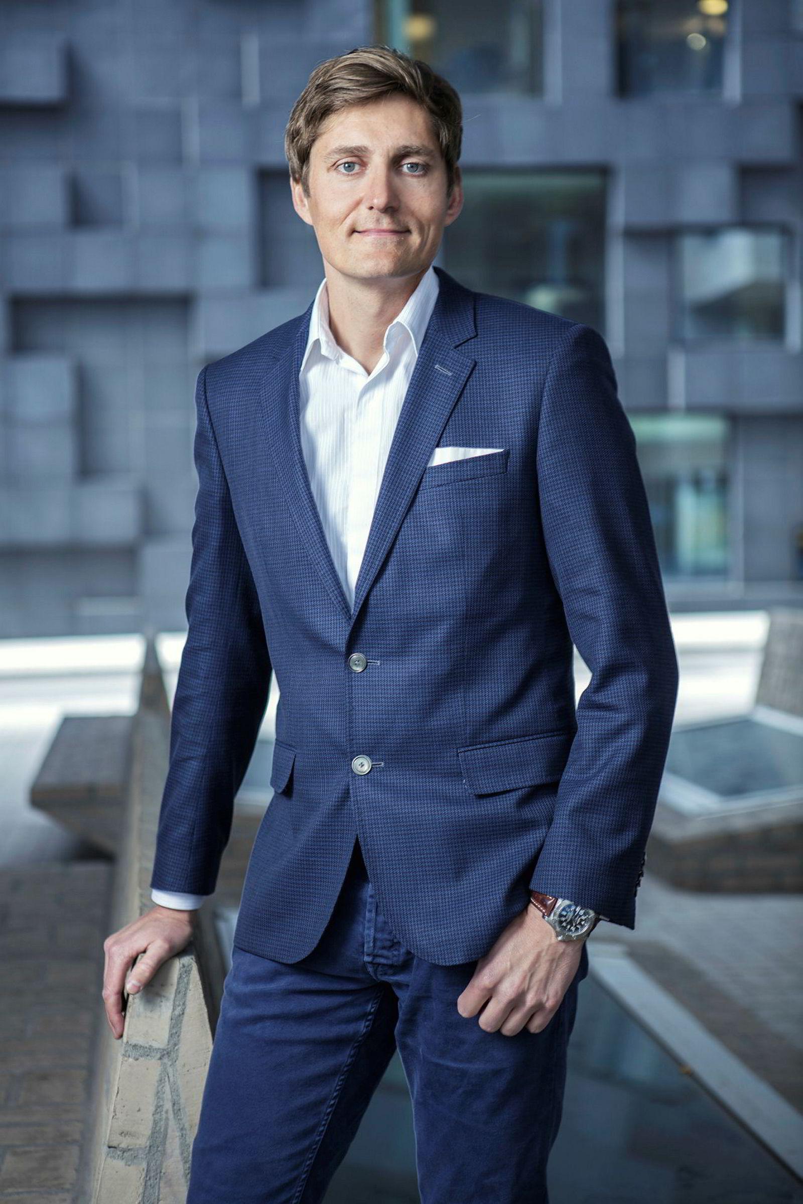 Boligdirektør Jørgen Blix i Oslo S Utvikling.