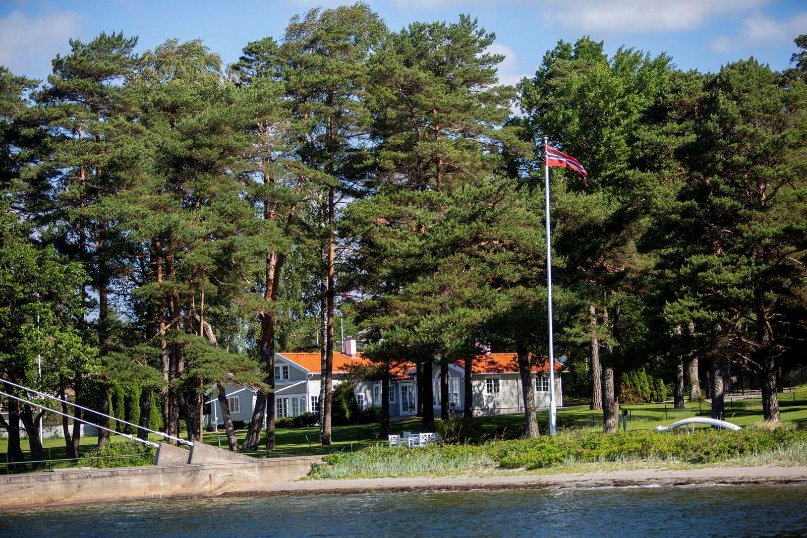I mai satte Brian Ole Jepsen ny prisrekord for Sandefjord-hytter da han ga 33 millioner kroner for denne eiendommen.