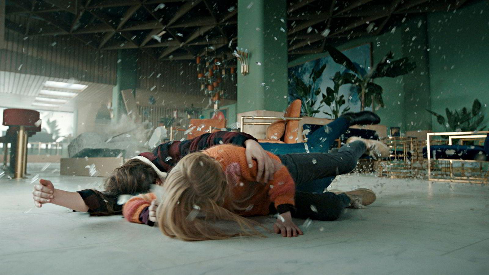 «Skjelvet» tar i visse sekvenser pusten fra en, ifølge DNs filmanmelder.