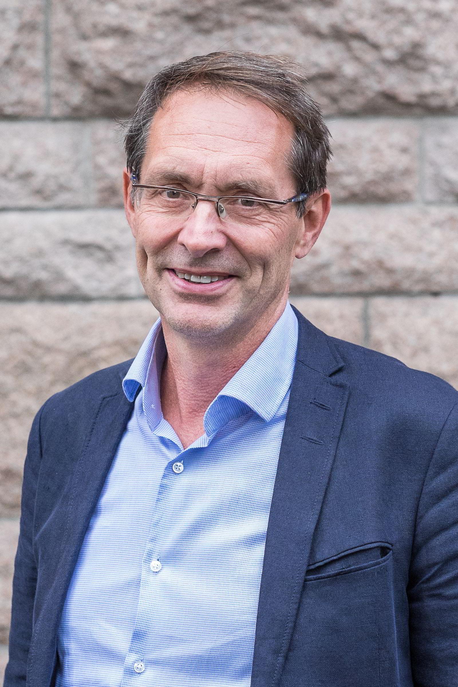 Sjef Bjørn Grepperud i byggeselskapet Insenti.