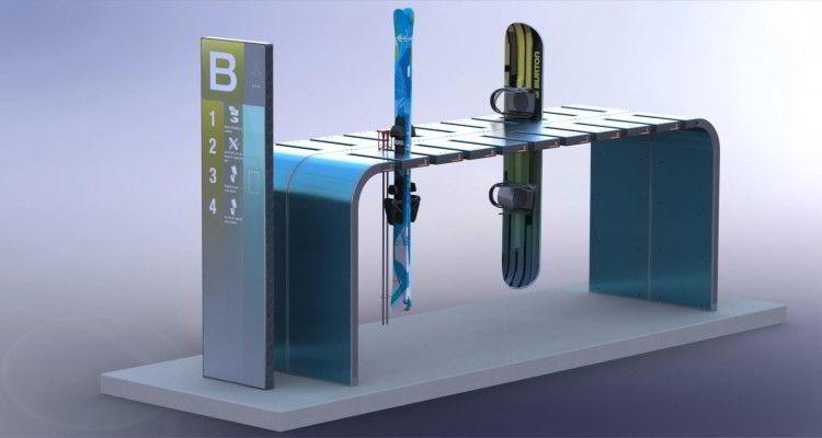 Designskisse av Alpilox' løsning.
