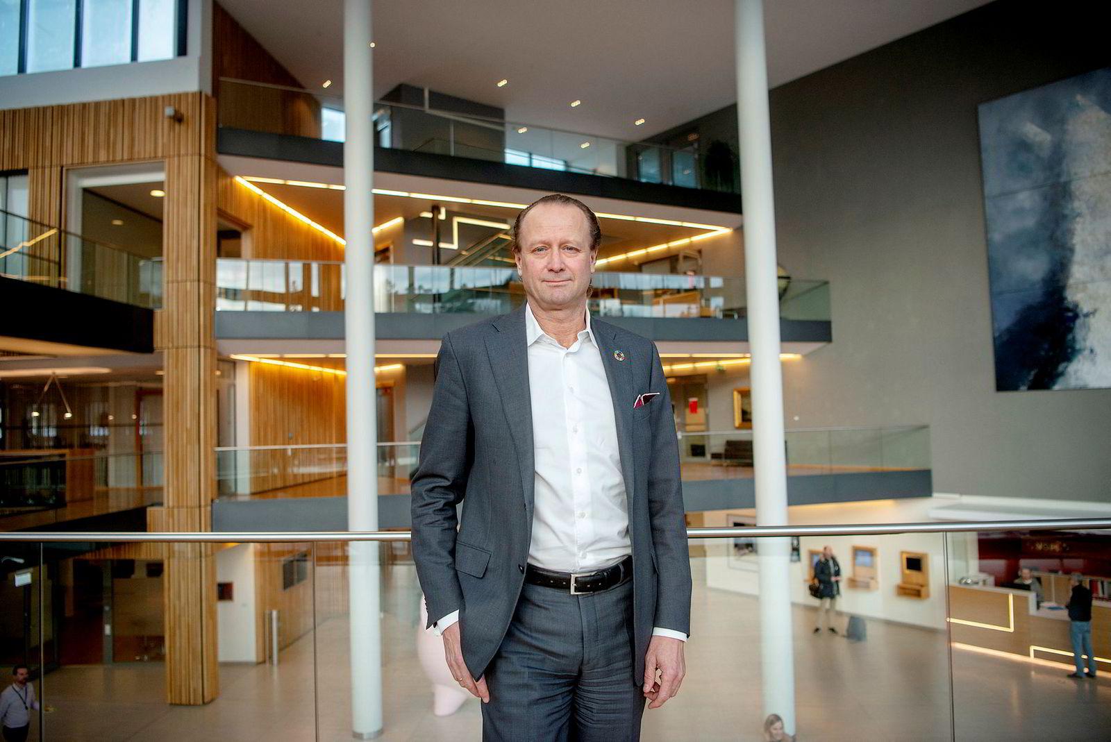 Konserndirektør for kapitalforvaltning i Storebrand, Jan Erik Saugstad, forventer langsiktige klimamål fra Equinor.