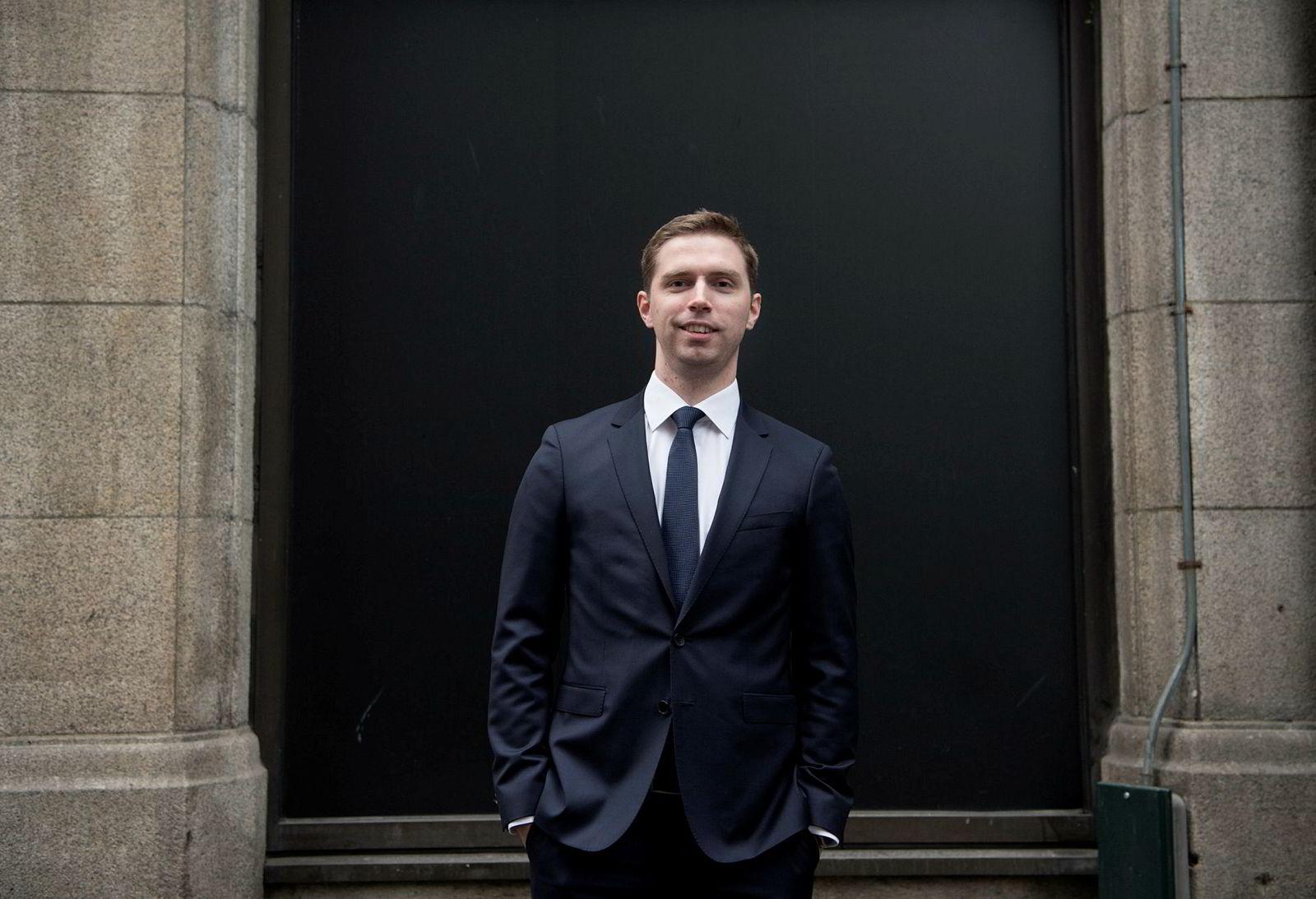 Alexander Larstedt Lager er forvalter for Arctic Fund Management.