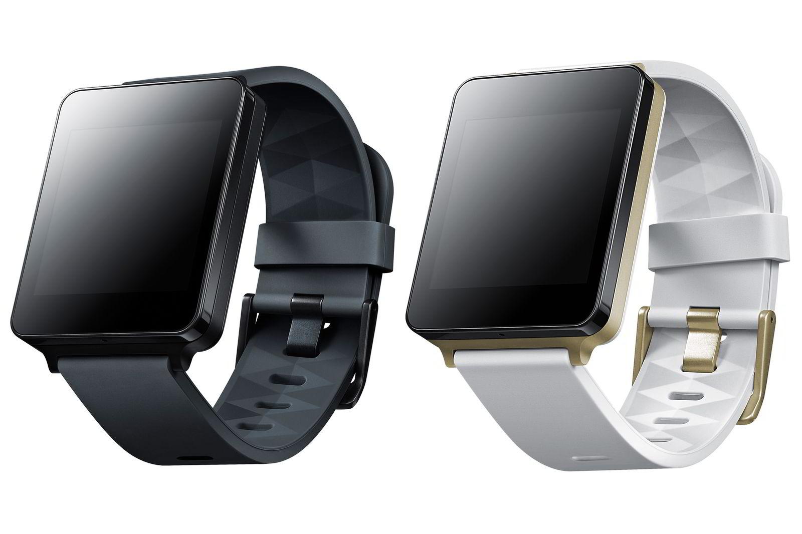 LG G Watch leveres i disse to fargene, men remmene kan byttes ut med standard klokkeremmer.
