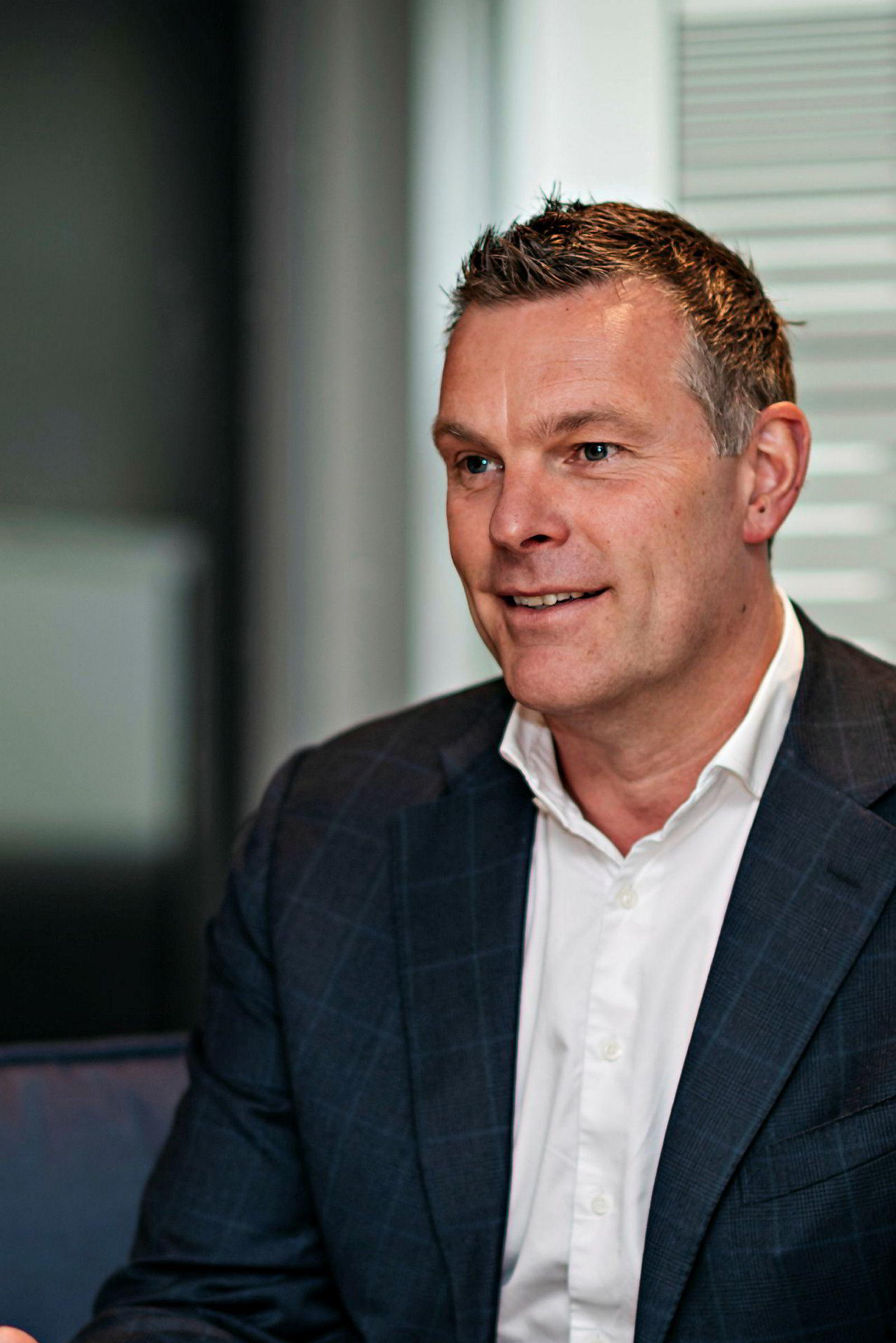 Thomas Kronen, norgessjef i Securelink.