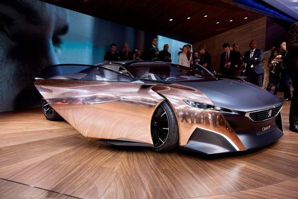 Slik så bilen ut da den ble vist i Paris i 2012.