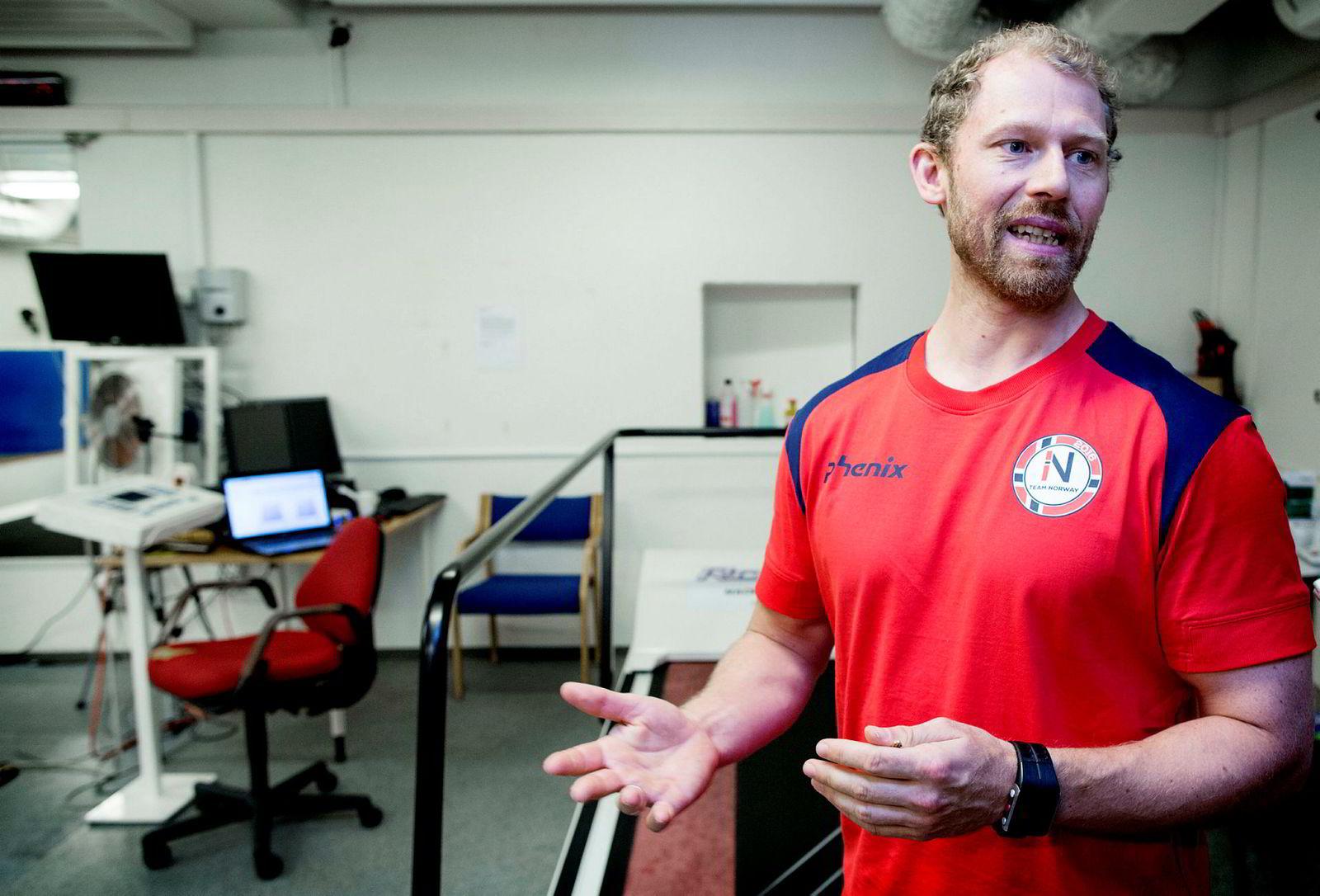 Gøran Paulsen, fagsjef for styrke i Olympiatoppen.