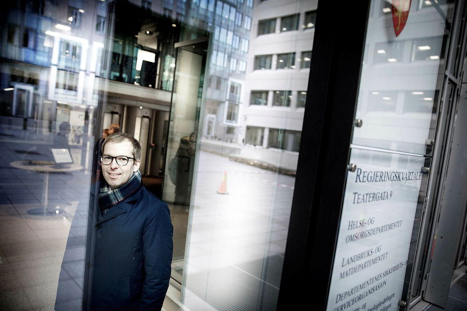 Administrerende direktør Håkon Haugli i Abelia.