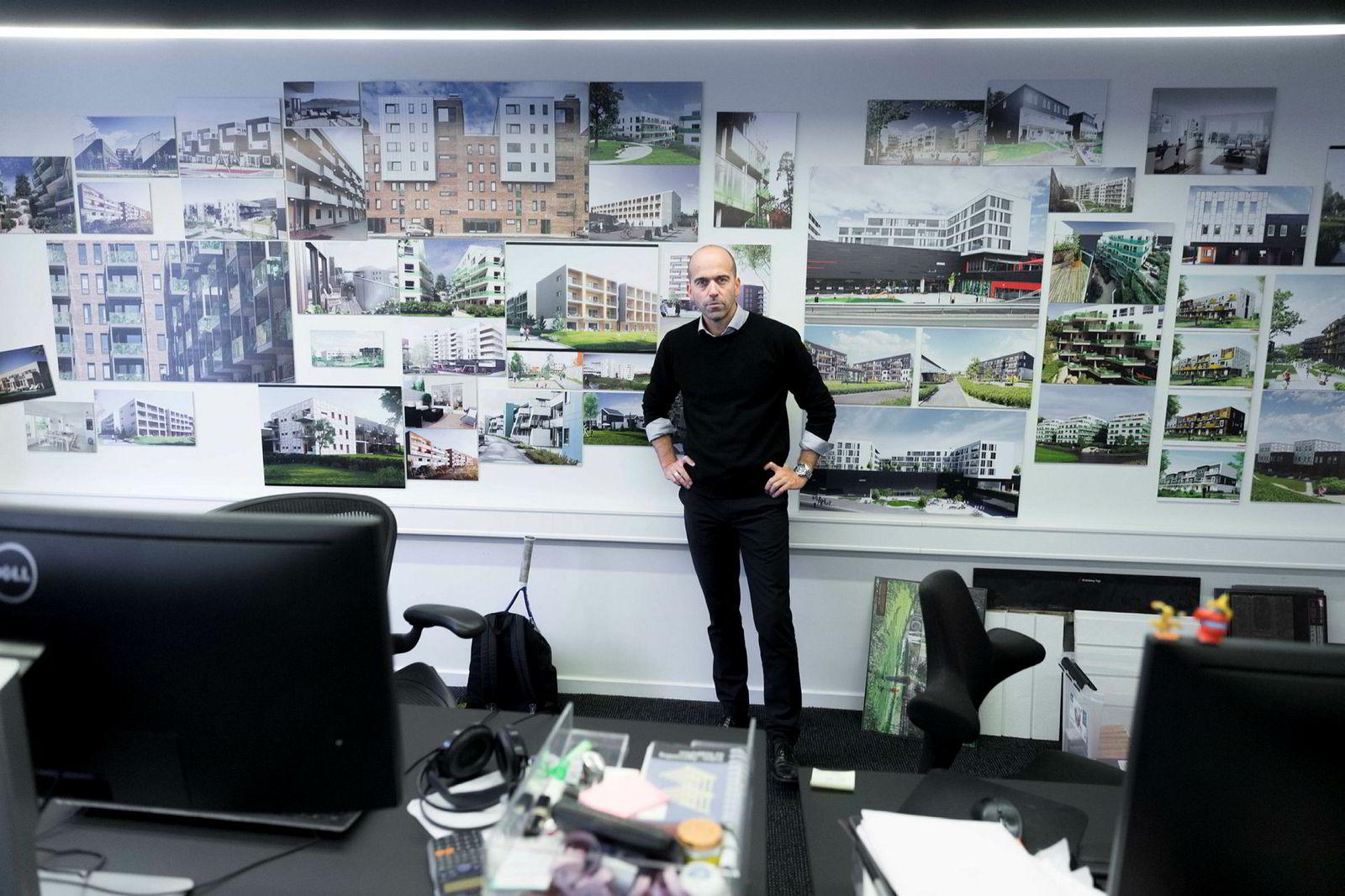 På få år har TAG vokst til å bli blant de største boligarkitektene i landet. Boligprosjektene Tiedemannsbyen i Oslo og Toppen i Trondheim er blant prosjektene TAG-sjef Lars Eirik Ulseth har jobbet på.
