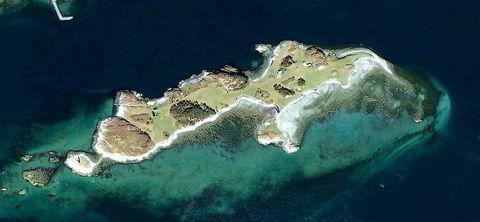 Brekstad, Norge, ligger i Bjugnfjorden og er på 56 mål. Prisantydning er satt til 3,5 millioner euro.
