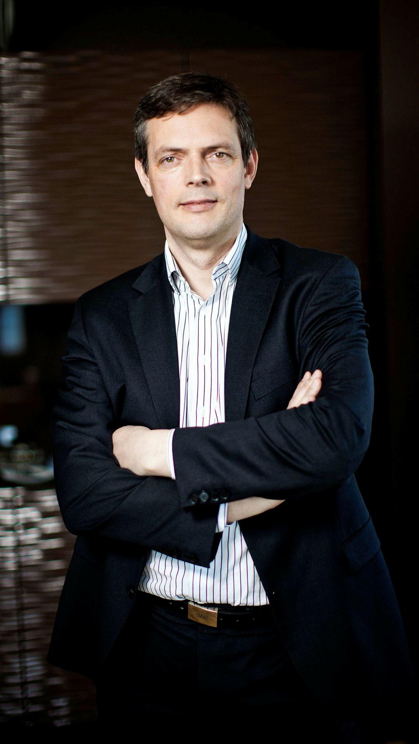 Råvaresjef Bjarne Schieldrop i SEB.