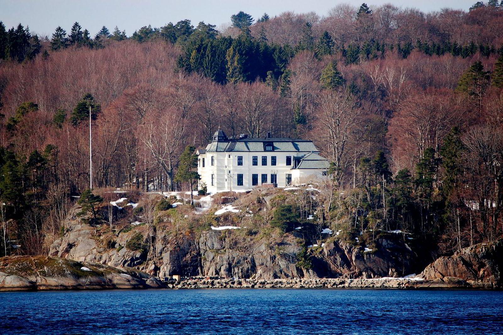 Balders Hage i Larvik ble bygget i 1879. Prisantydningen ifjor var på 45.mill. Nå er den 29. mill.