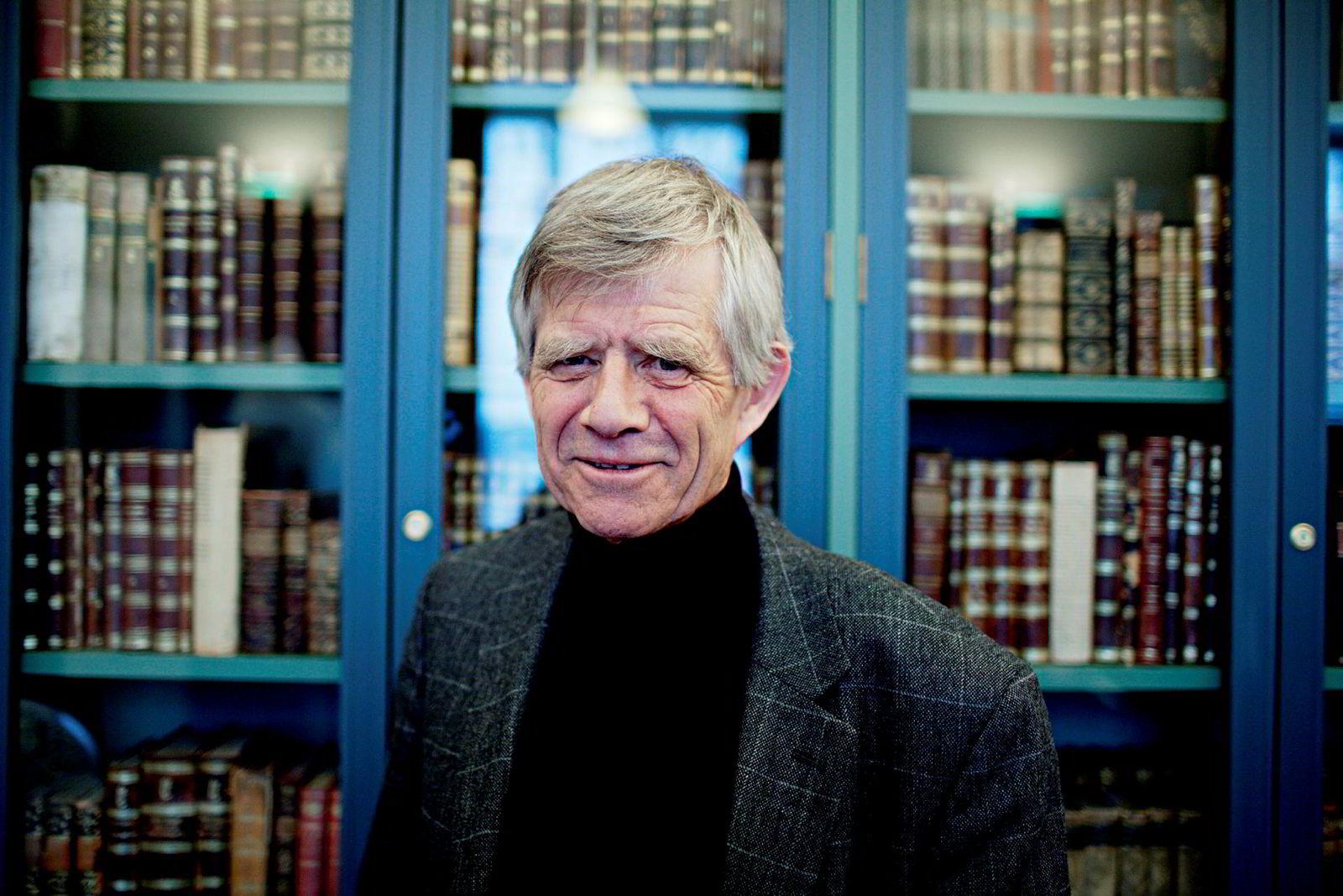 79 år gamle Bjørn Egner er den eldste av Thorbjørn Egners fire barn.