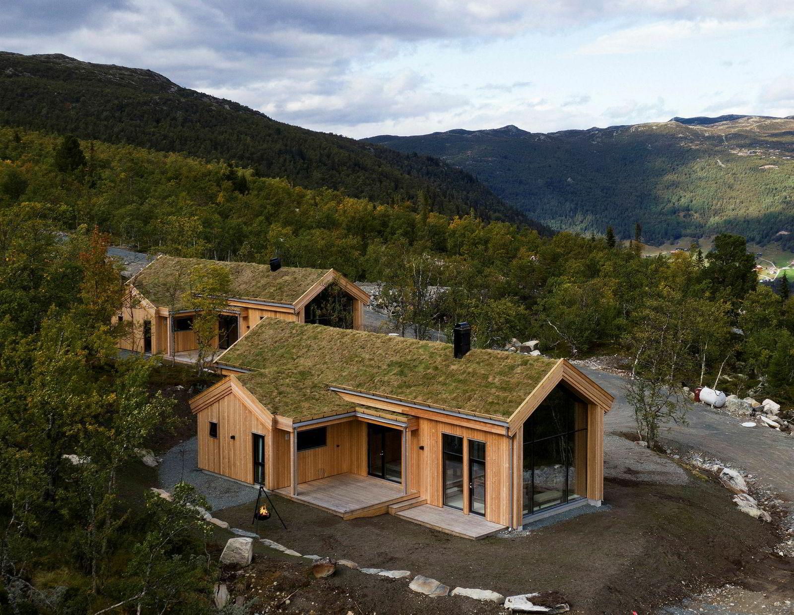 Den ene av Harald Rønnebergs to hytter er nå solgt for 4,75 millioner kroner.