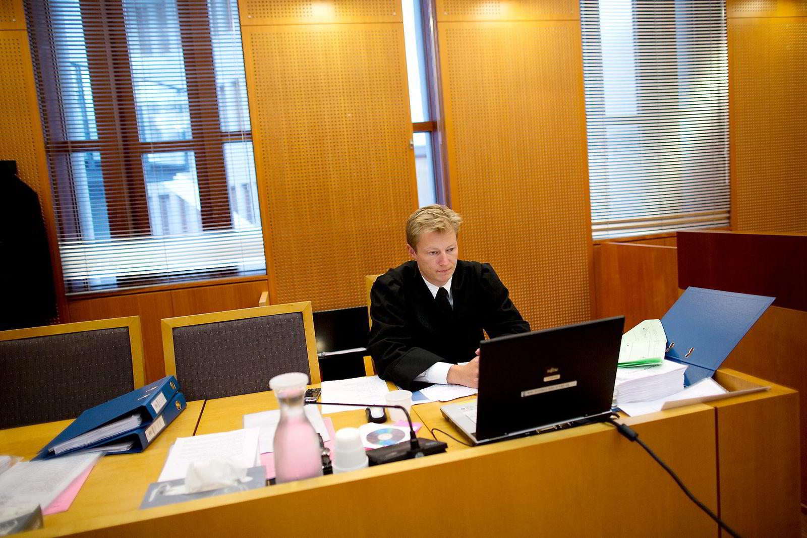 Politiinspektør Ole Rasmus Knudsen. Bildet er tatt i 2012, da Knudsen var aktor i en sak for Økokrim. Foto: Øyvind Elvsborg