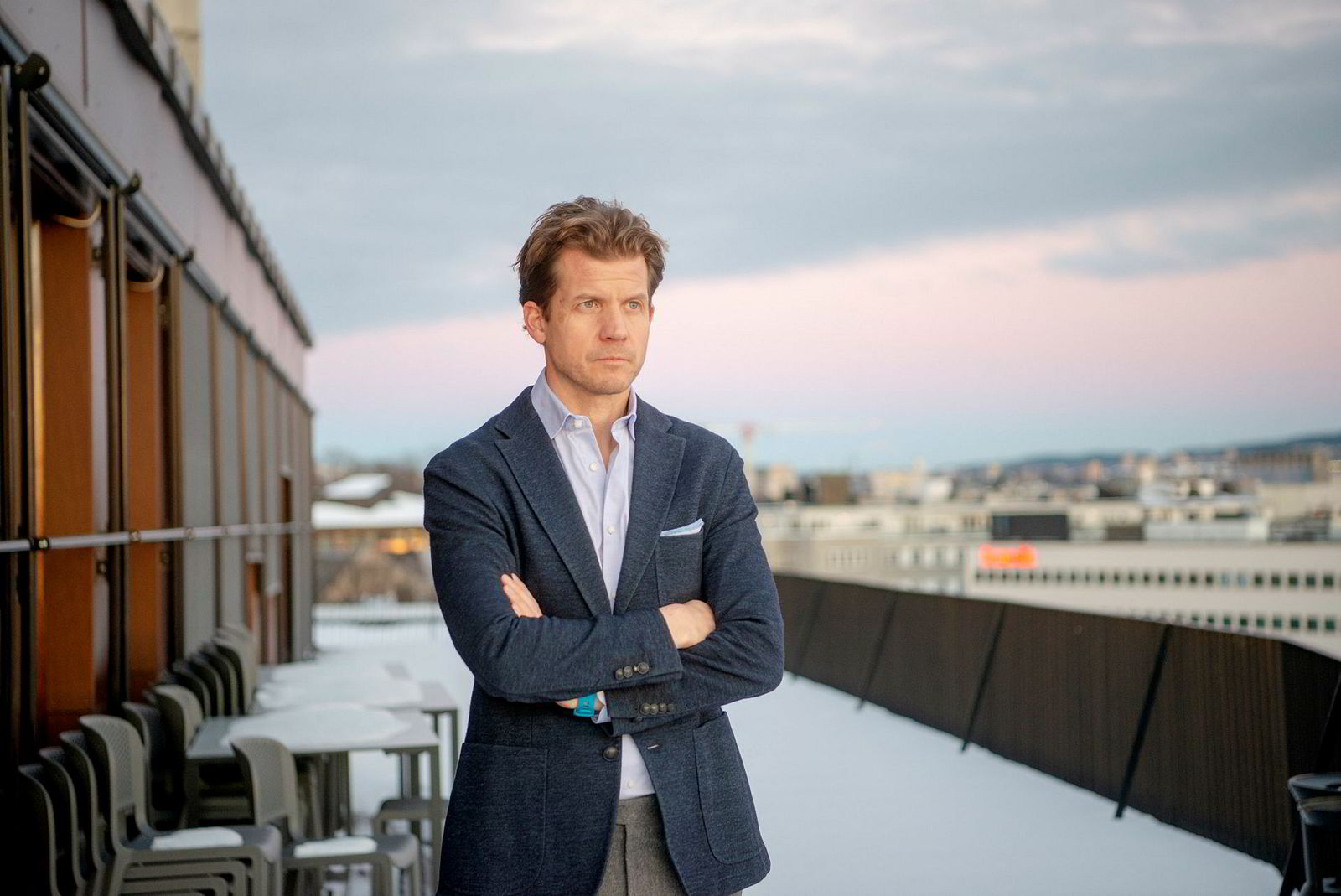 Harald Hauge er advokat for Ferd.