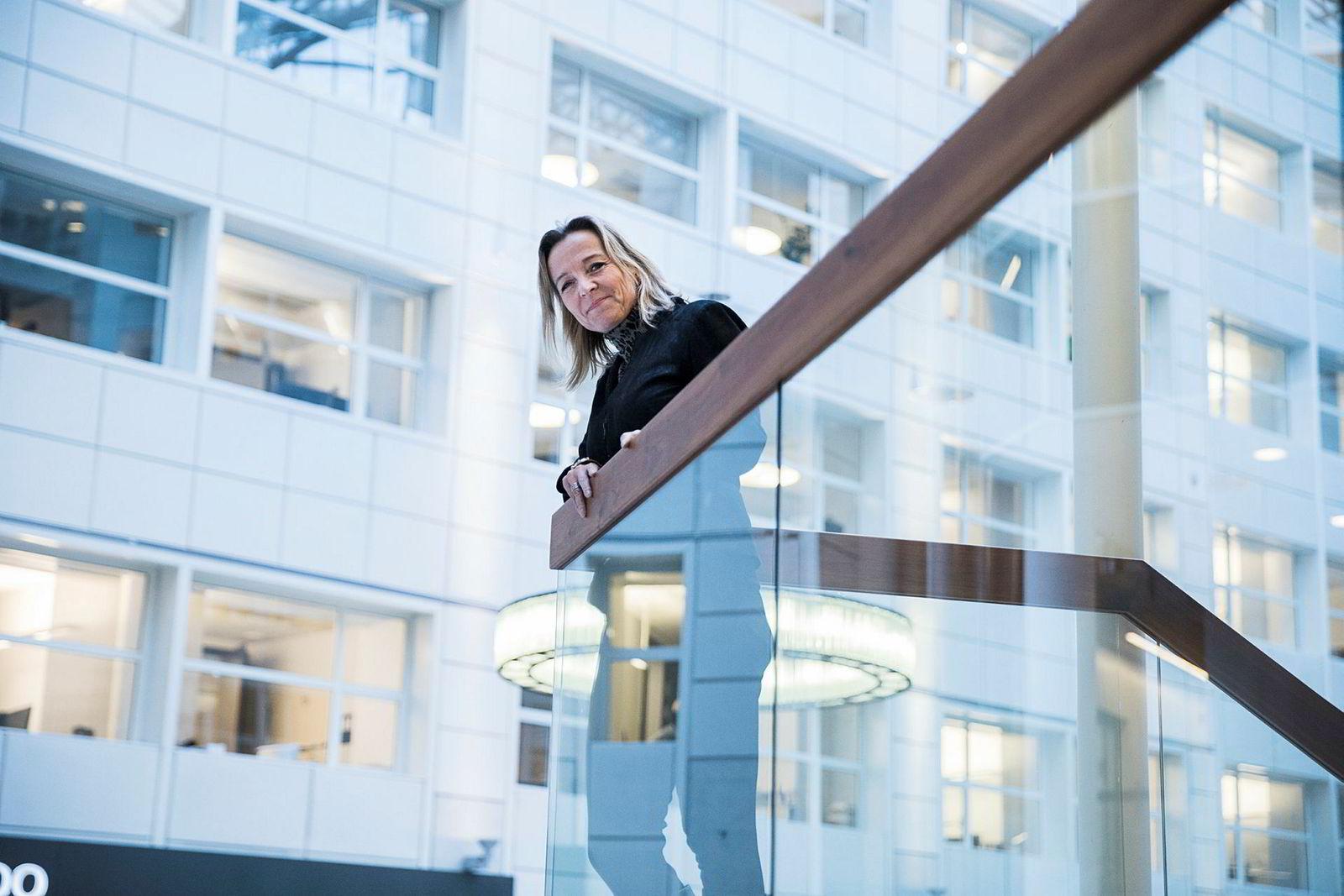 Mette Krogsrud blir sjef for hr i nye Schibsted. Hun kommer fra hodejegerfirmaet Korn Ferry.
