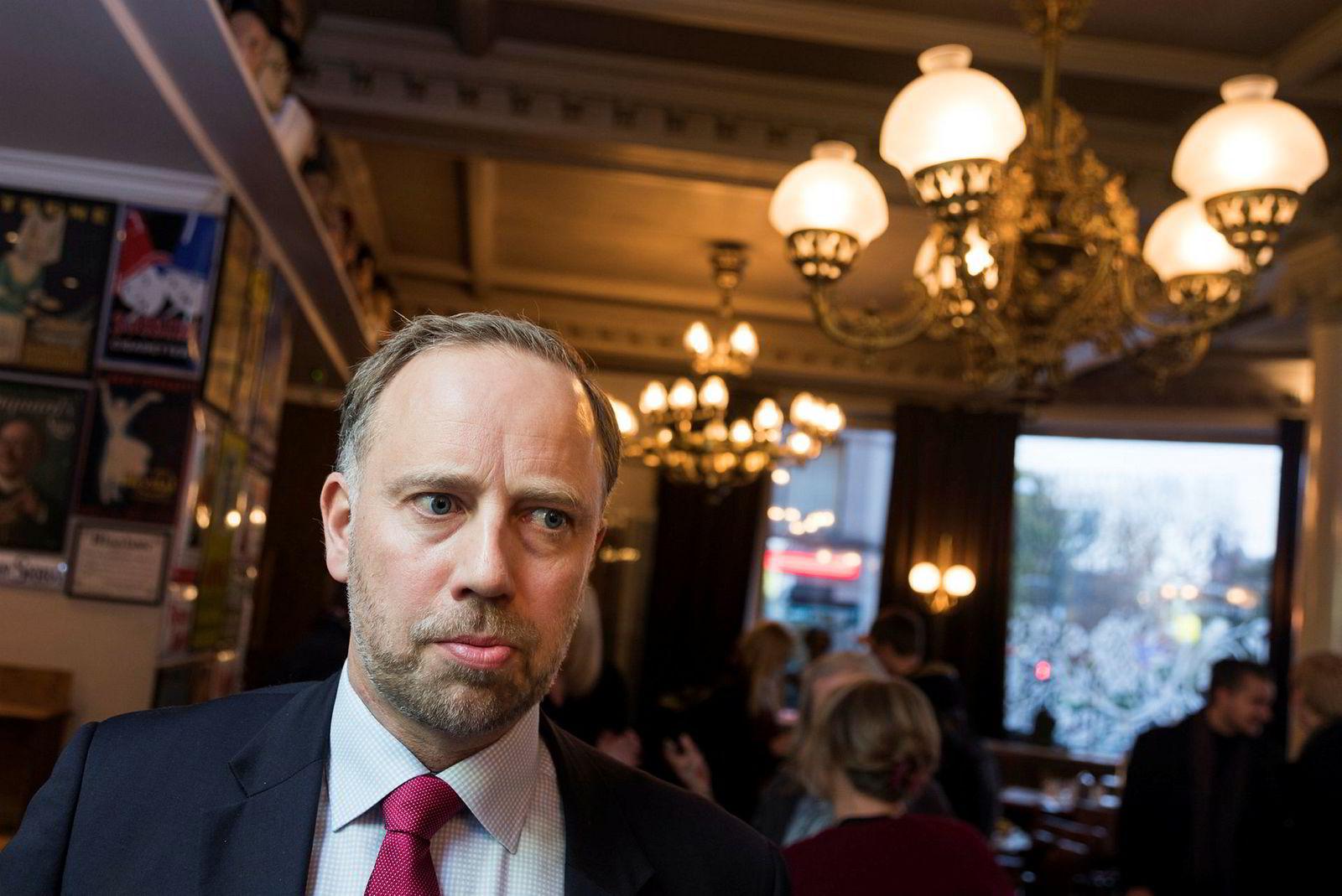 Administrerende direktør Christian V. Dreyer i Eiendom Norge.