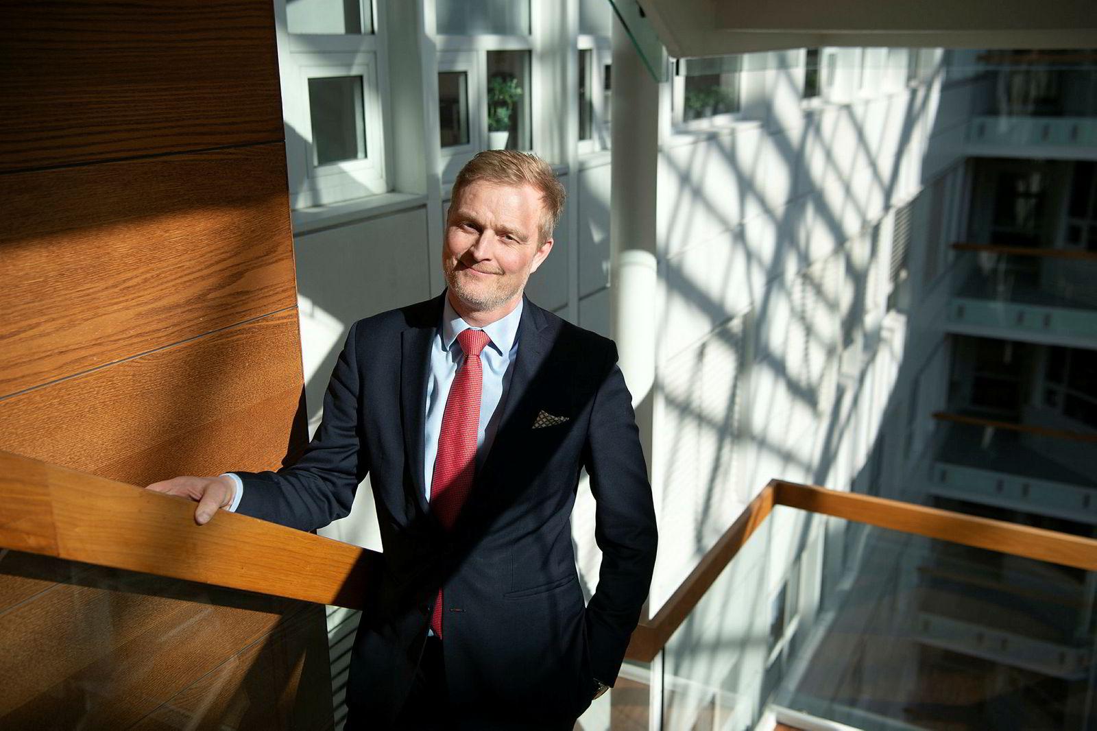 Bankanalytiker Jan Erik Gjerdal i ABG Sundal Collier.
