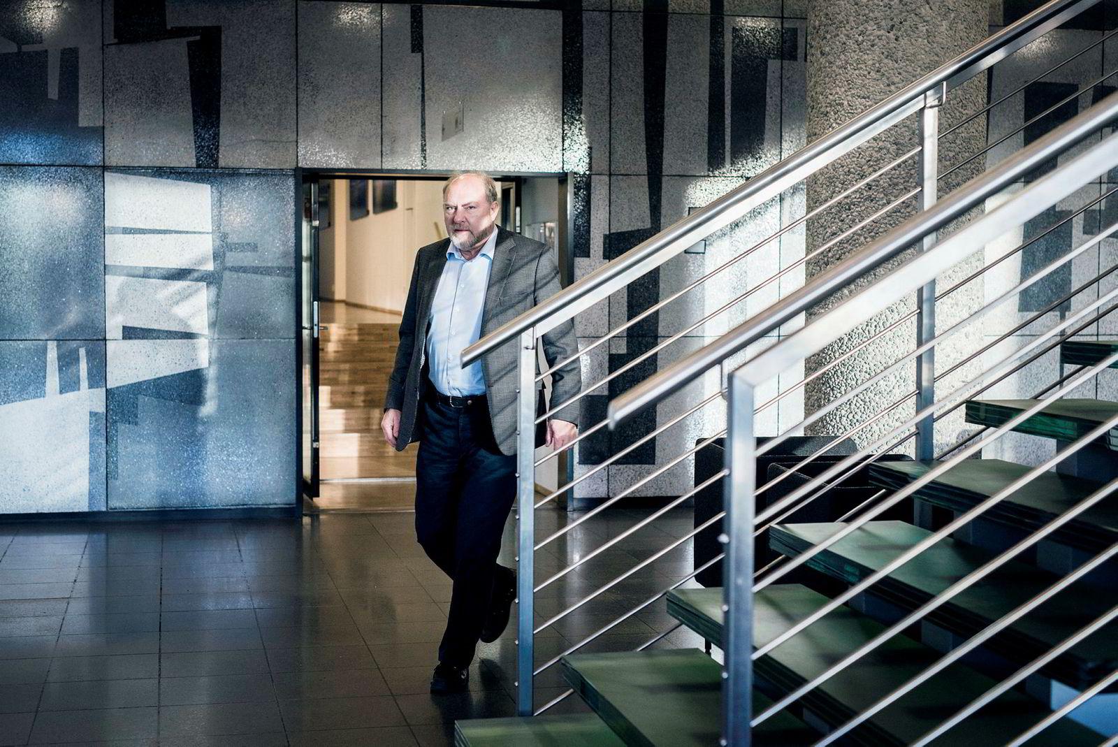 Arbeidslivsdirektør Svein Oppegaard i NHO.