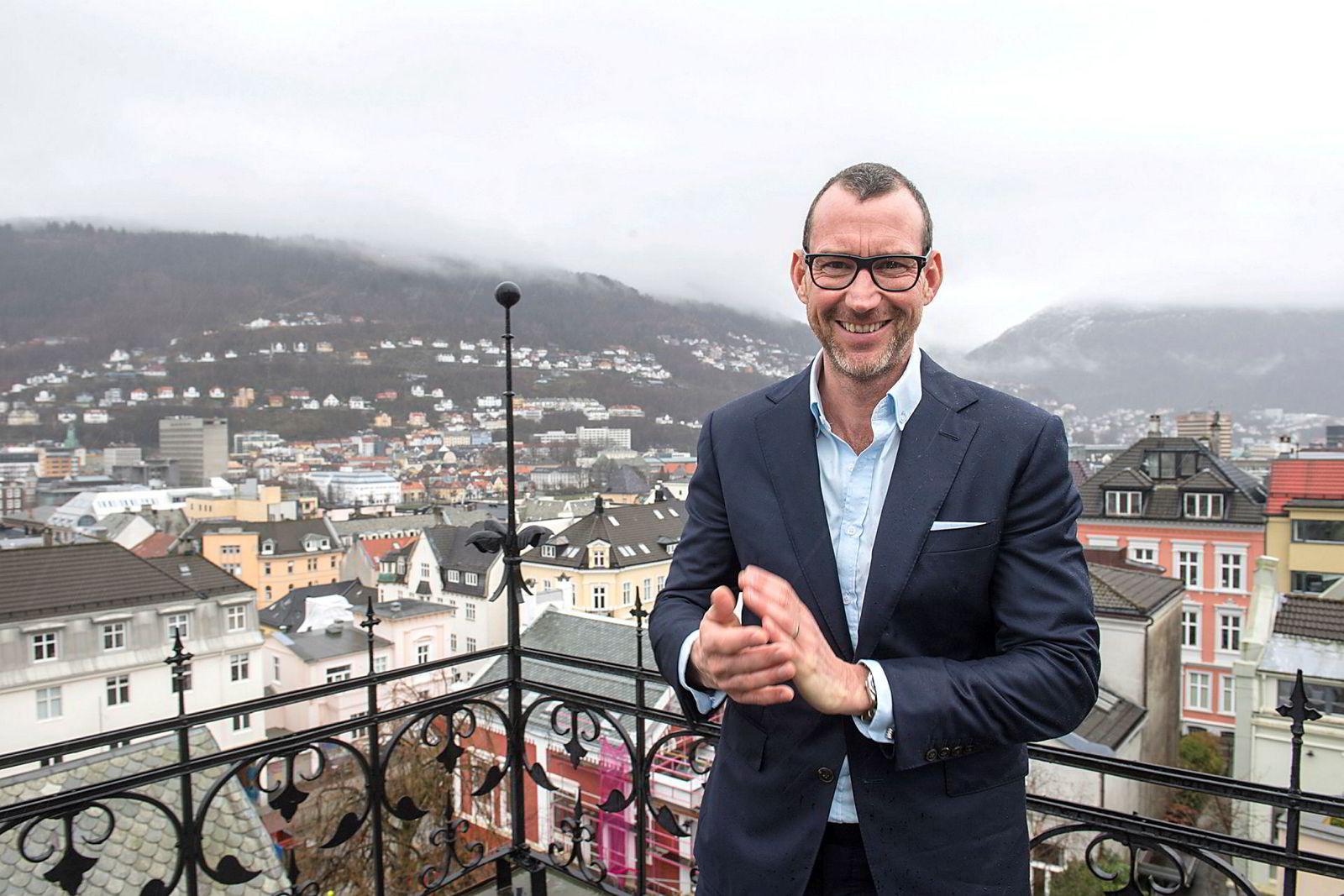 – Jeg vil tro familien gleder seg til vinterferien nå, sier Espen Galtung Døsvig